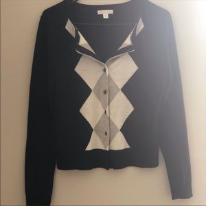 Black Nad White New York & Company Sweater